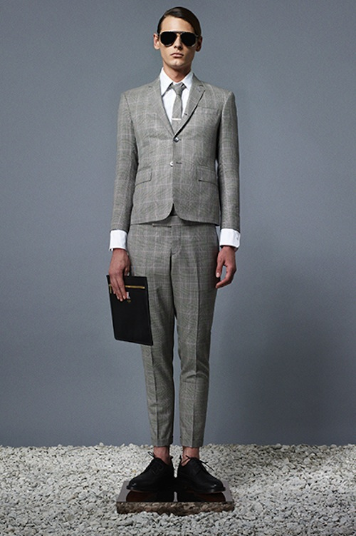 e840eb15d93 Thin Your Wallet, and Clown Up! Thom Browne S/S 2014 Menswear Lookbook | M.  Divers